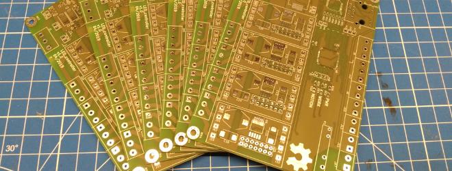 Печатные плата LED controller'а